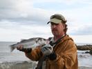 Rudy van Duijnhoven bei Flyfishing Europe, Fliegenbinden, Fliegenfischen mit der Switch-Rute