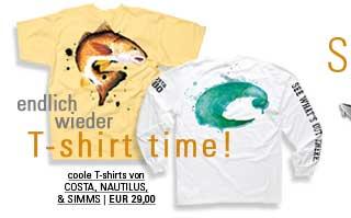 coole T-Shirts für Fliegenfischer bei Flyfishing Europe