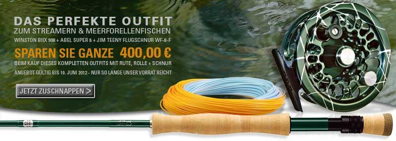 Das perfekte Outfit zum Streamern und Meerforellenfischen, sparen Sie ganze 400 Euro bei Flyfishing Europe