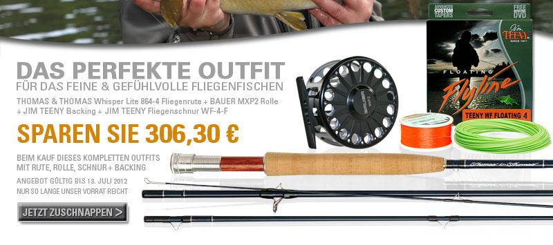 Sparen Sie 306,30 Euro beim Kauf dieses Fliegenfischer-Outfits
