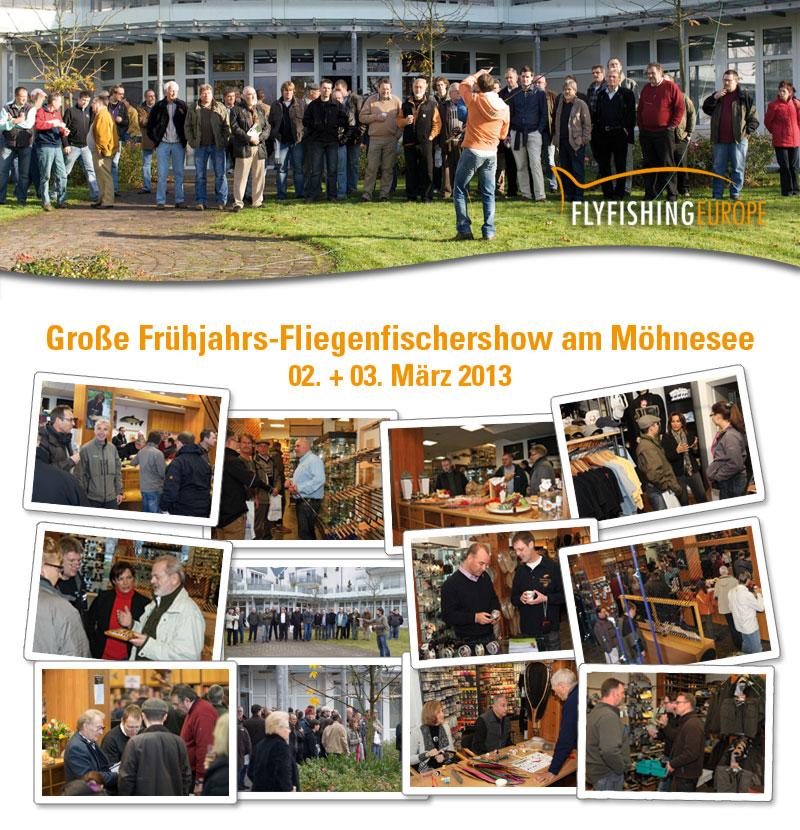 Große Frühjahrs-Fliegenfischershow am 2. und 3. März 2013