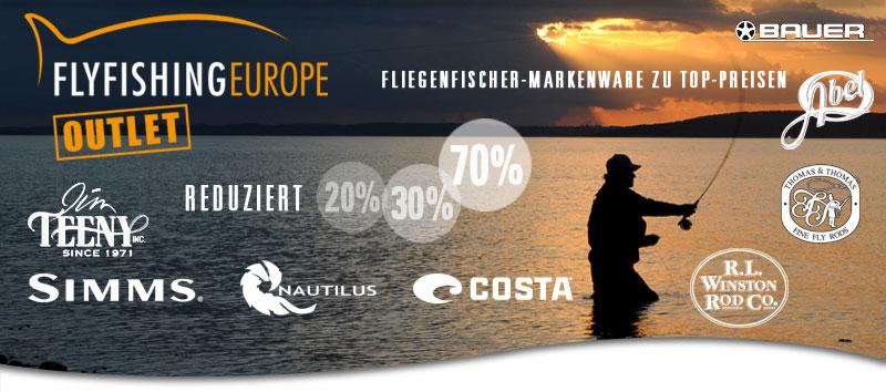 Neue Schnäppchen im Flyfishing Europe Outlet