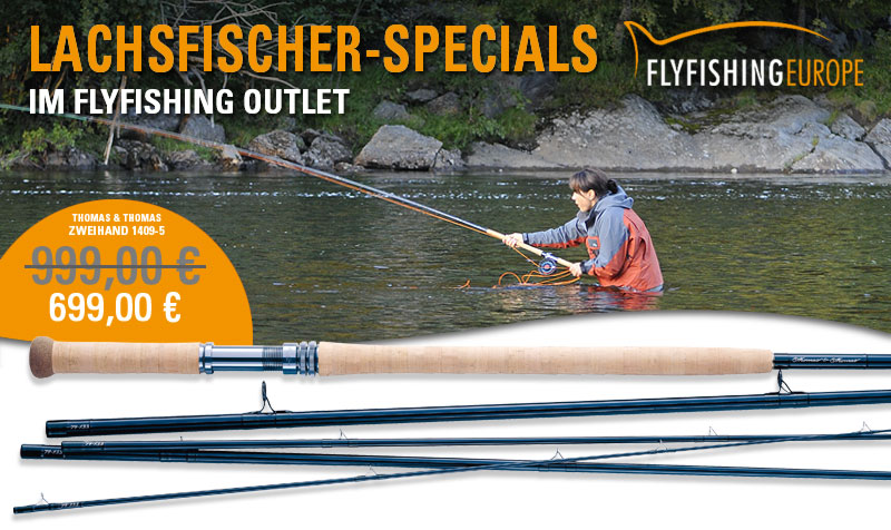 Lachsfischer-Specials im Flyfishing Europe Outlet