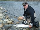 Andre Scholz bei Flyfishing Europe, Fliegenbinden, Fliegenfischen