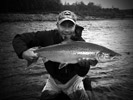 Roy E. Thue bei Flyfishing Europe, Fliegenbinden, Fliegenfischen