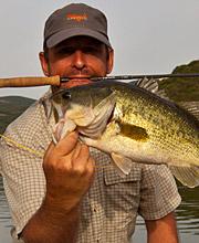 Stefan Schmid bei Flyfishing Europe, Fliegenbinden, Fliegenfischen