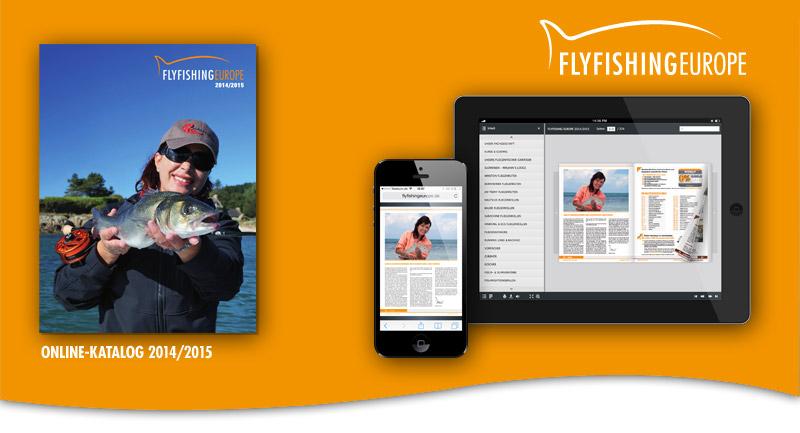 Der Flyfishing Europe Blätterkatalog 2014 / 2015