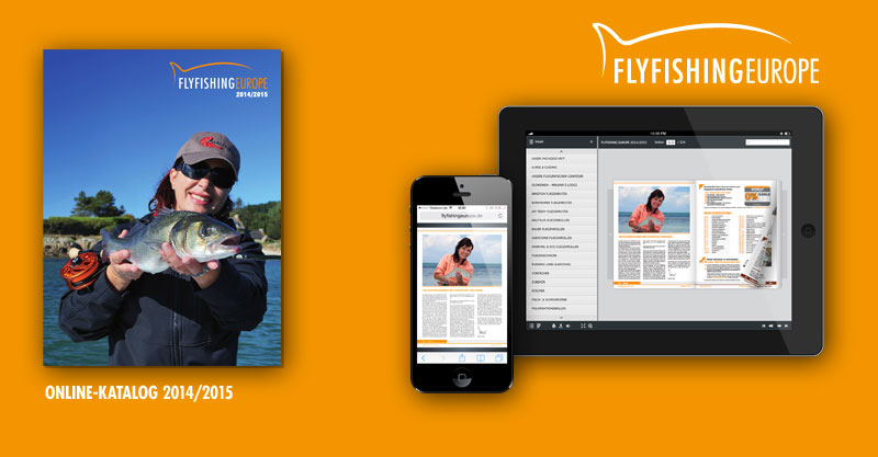 Der Flyfishing Europe Blätterkatalog
