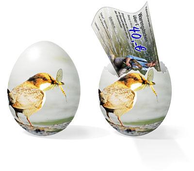 Flyfishing Europe Mirjana Pavlic: Fliegenfischer-Ei zu Ostern