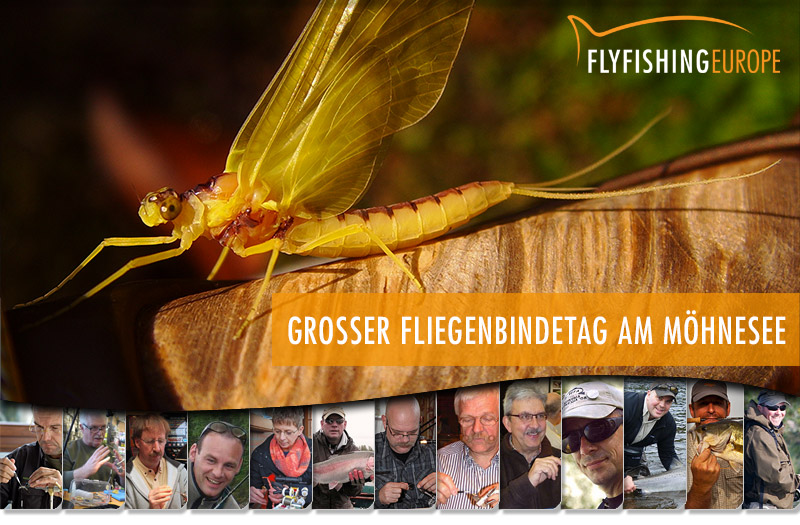 Mirjana Pavlic - Grosser Fliegenbindetag am Möhnesee