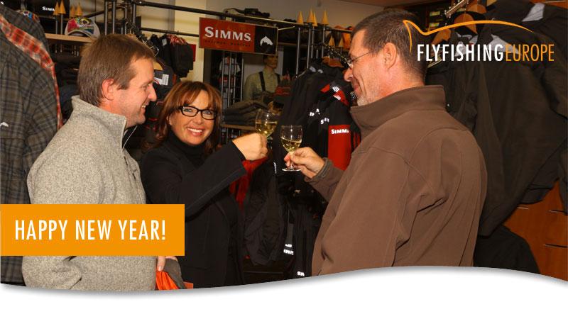 Traditionellen Neujahrsempfang am Samstag, den 10. Januar 2015 - Flyfishing Europe