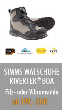 SIMMS Watschuhe Rivertek Boa