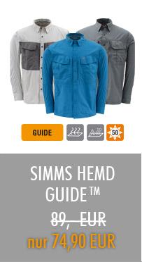 SIMMS Hemd Guide