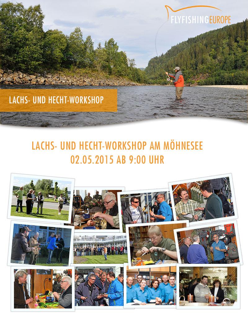 Lachs- und Hechtworkshop am Möhnesee am 02.05.2015 ab 9:00 Uhr
